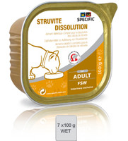 Dechra Feline Specific Fsw Struvite Dissolution 7pk Cat Food - 100G