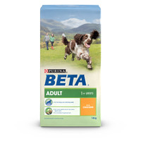 BETA Adult Dry Dog Food with Chicken - 14kg