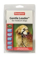 Beaphar Gentle Anti-Pull Black Leader - Medium