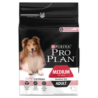Purina Pro Plan Sensitive Skin Salmon with Optiderma Adult Dry Dog Food - 3kg