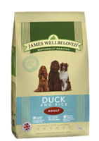 James Wellbeloved Duck & Rice Adult Dry Dog Food - 15kg