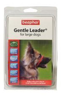 Beaphar Gentle Anti-Pull Black Leader - Large