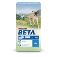 BETA Adult Large Breed Turkey Dry Dog Food - 14kg