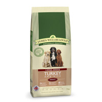 James Wellbeloved Turkey & Rice Adult Large Breed Dog Food - 15kg