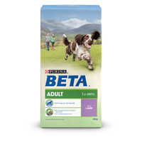 BETA Adult Dry Dog Food with Lamb - 14kg