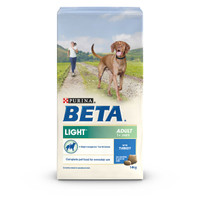 BETA Light Adult Dry Dog Food with Turkey - 14kg