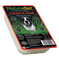 Naturediet Chicken & Lamb Dog Food - 390g