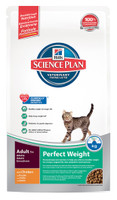 Hills Science Plan Perfect Weight Adult Dry Cat Food - 250g