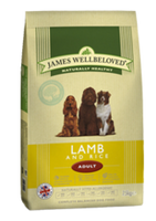 James Wellbeloved Lamb & Rice Adult Dry Dog Food - 15kg