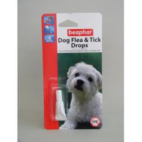 Beaphar Small Dog Flea Drops 4 Week 4wk
