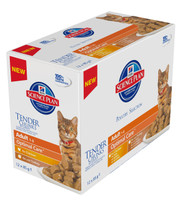 Hills Science Plan Feline Chunks & Gravy Adult Pouch Multipack Poultry 12x85g