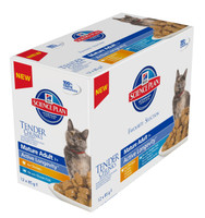 Hills Science Plan Feline Chunks & Gravy Mature Adult Pouch Multipack 12x85g
