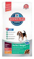 Hills Science Plan Perfect Weight Medium Adult Dry Dog Food - 2kg