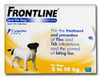 Frontline Spot On Flea Drops for Small Dogs and Puppies (2-10kg) - 3Pack