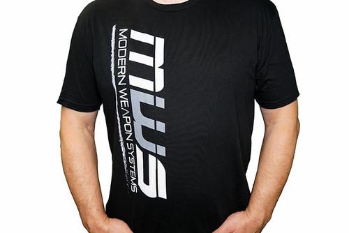 SNOWFLAKE RESISTANT / MWS - Tee Shirt Logo / Side - Black