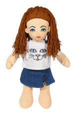 Kitty Kat Top & Denim Skirt Outfit