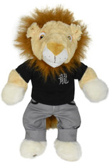 Black Tee and Tiger Pants