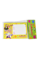Paper Party Invitation - 8 pc/Set