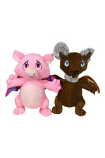 Molly & Wally Gargoyle- assortment of two(6 PCS = 2 OF EACH)