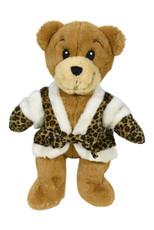Leopard Vest & Gloves