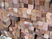 2X2 Square Hardwood