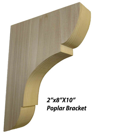 Solid Wood Shelf Bracket 8 Quot X 10 Quot Total Wood Store
