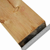 """Knotty White Pine, 4"""" Timbers for Mantels, S4S"""
