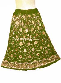 Designer mini Length Skirt #221