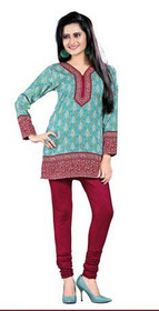 Silky Ethnic Kurti Tunic #DK770