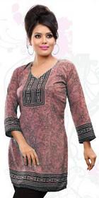 Silky Ethnic Kurti Tunic #DK778