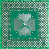 "Schmartboard|ez QFP, 32 - 100 Pins 0.5mm Pitch, 2"" X 2"" Grid (202-0011-01)"