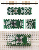 Schmartboard|ez .5mm Pitch, 12 and 24 Pin QFP/QFN to DIP Adapter (204-0015-01)