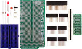 Schmartboard|ez SOT 23 & SC70 SMT to DIP adapter Arduino Mega Shield Kit (206-0001-03)