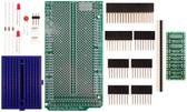 Schmartboard|ez SOT 23 & SC70 SMT to DIP adapter Arduino Mega Shield Kit (206-0001-03)