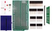 Schmartboard|ez 1.27mm Pitch SOIC to DIP adapter Arduino Mega Shield Kit (206-0001-04)