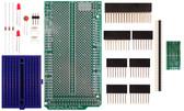 Schmartboard|ez 0.635mm Pitch SOIC to DIP adapter Arduino Mega Shield Kit (206-0001-13)