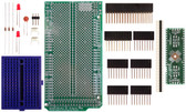 Schmartboard|ez 0.5mm Pitch 48 Pin QFP/QFN to DIP adapter Arduino Mega Shield Kit (206-0001-14)