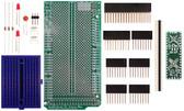 Schmartboard|ez .5mm Pitch 12 & 24 Pin QFP/QFN to DIP adapter Arduino Mega Shield Kit (206-0001-15)