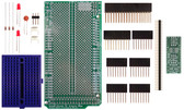 Schmartboard|ez 0.5mm Pitch 32 Pin QFP/QFN to DIP adapter Arduino Mega Shield Kit (206-0001-17)