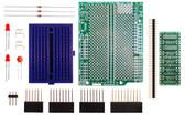 Schmartboard|ez SOT 23 & SC70 Surface Mount to DIP adapter Arduino Uno Shield Kit (206-0002-03)