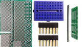 Schmartboard|ez 1.27mm Pitch SOIC Raspberry Pi S Add-on Board Kit (710-0010-04)