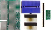 Schmartboard|ez .635mm Pitch SOIC Raspberry Pi Add-on Board Kit (710-0010-13)