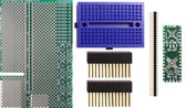 Schmartboard|ez .5mm Pitch, 12 & 24 Pin QFP/QFN Raspberry Pi Add-on Board Kit (710-0010-15)