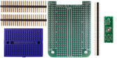 BeagleBone .5mm Pitch, 40 Pin  QFP/QFN  Prototyping Cape Kit (201-0001-44)