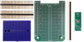 BeagleBone .5mm Pitch, 44 Pin  QFP/QFN  Prototyping Cape Kit (201-0001-45)