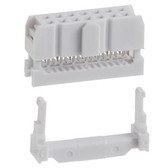 Qty. 4 Female 2 x 7 IDC Sockets (920-0114-01)