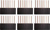 Qty. 6, Eight Pin Stackable Headers for Arduino (920-0086-01)