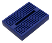 Blue Breadboard 170 Tie Points with Adhesive Back (920-0101-01)