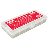 Deluxe 150 piece Capacitor component kit in plastic case (990-0081-01)