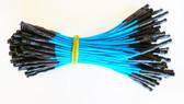 "Qty 100 3"" Female Blue Jumpers (920-0168-01)"